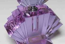 # Crystal perfume bottle