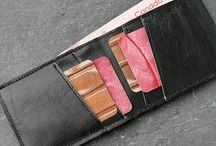 Wallets and Accessories made from vintage luxury car interiors by Mariclaro ZW