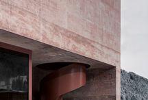 red concrete