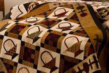 Quilts with baskets / Квилты с корзинами