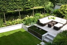 Garden styles: contemporary gardens/outdoor rooms