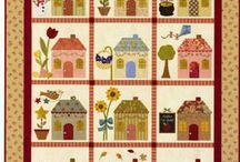 quilte med huse