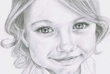 Pencil portraits and drawings / Pencil portraits and drawings