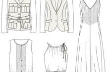 Fashion - Technical Sketch / by Ana Paula Cardoso