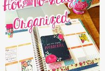 make your own planner or agenda
