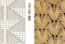 lace stiches / patterns