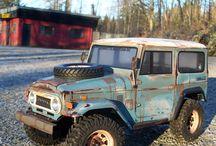 Cool RC trucks and rock crawlers