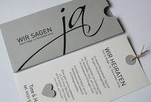 Hochzeit's  Einladung Karte und Text