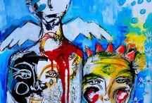 Faces / by Sue Komernicky