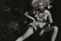 Marlene Dietrich, iron will..