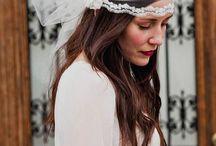 Novias que nos encantan / Brides We Love / #inspiration #brides #weddings #volvorete #hats #headpieces