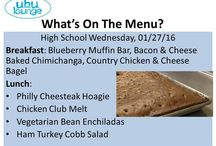 SCHOOL MENUS That Rock / Elementary, middle and high menus from schools where the meals rock every day!