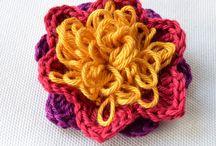 Crochet Flowers / by Linda Abbey McCabe