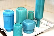 How to paint jars