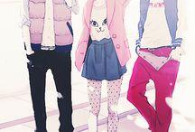 anime/manga fashion outfits