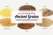 Get to Know Your #AncientGrains / Unchanged for ages (literally!), ancient grains provide a boost of protein and nutrients! / by Udi's Gluten Free Foods