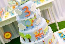 Children birthday cakes/ Παιδικές τούρτες γενεθλίων