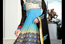 Salwar / What a surprise in designer  salwar kameez in beautiful print with  model salwars. Its surely a must buy for hot summer.