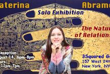 Solo Show / Dear friends,  welcome to my Solo Exhibit at 3Squared Gallery Chelsea NYC.  157 West 24th Street, btw 6th & 7th avenues.  OPENING RECEPTION AUGUST 14 from 6 till 8 pm.  I will be exhibiting my selected paintings from my very recent New York collection made at MANA Contemporary.  www.artabramova.info