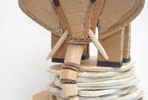 cardboard art n' crafts