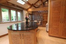 Luxury kitchens / A selection of beautiful domestic kitchens installed by Lomax Interiors.