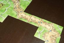 Carcassonne game scenarios & finished cities