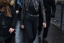 Gigi Hadid style / she's gorgeous and I love her personal style :-) Photos are from Pinterest, official Instagram account of Gigi Hadid, Getty images, Tumblr boards, Daily Mail etc...