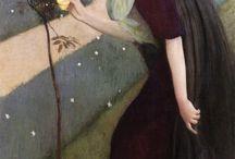 růže a žena