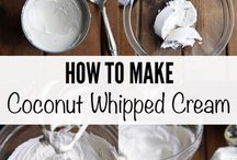 Coconut whipped frosting
