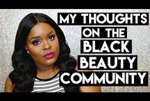 Black beauty / Content from all over the web to inspire and support our community. And also fun!