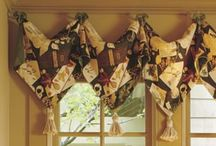 Pointed Tassel Sewing Valance Pattern