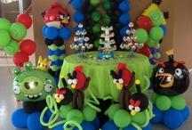 angry birds ballon