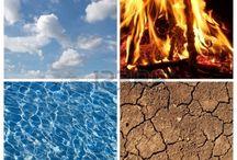 de elementen/seizoenen