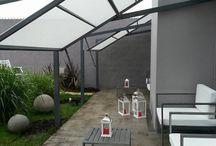 Terrasse groß