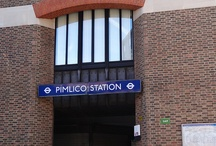 Pimlico / Pictures and Photos in and around Pimlico underground station, London. / by Randomly London