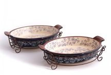Elegant Dining / Pretty Dishes & Beautiful Bakeware.  Favorite Kitchenware pieces. / by Daily Blessings (Denise) DiFalco-Dickson