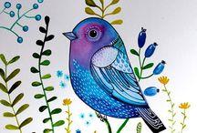Inspirace Ptáčci