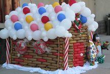 Balloons - Christmas