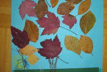 Basteln/Malen/Kreativ sein mit Kindern im Herbst / alles was man im Herbst kreatives mit Kindern machen kann