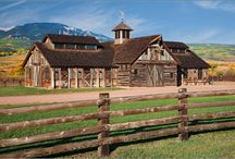 Stable and Barn Style / My dreams of beautiful horsie homes...