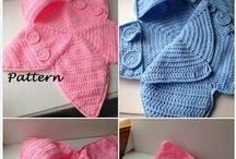 Horgolt baby ruhák