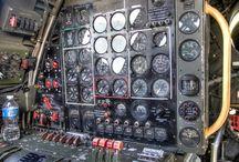 Avionica , paneles i sarmientos de navegación aerea