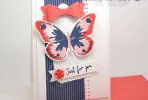 Watercolor Wings / Stampin' Up! Watercolor Wings & Coordinating Framelits Save 15% when you purchase them in a Bundle / by Stamps to Die For, Patsy Waggoner