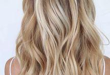 Vaaleat hiukset