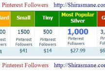 Buy Pinterest Followers / WANT TO BECOME PINTEREST FAMOUS...!  BUY PINTEREST FOLLOWRS, REPINS & LIKES...!  Buy1,000 Pinterest Followers for $27.99 ONLY...!!! 80% OFF on our Pinterest followers packages.  Are you the one who thinks I want more followers on Pinterest? or I need more followers on Pinterest? then, you have just come to the Right Place!. Get Pinterest followers fast and attract more followers using our Pinterest Followers packages.  Visit ===>    http://www.Shirasmane.com/PF
