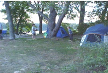 Camping at Waterloo recreational area