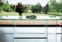 Sovet Furniture / Italian glass furniture