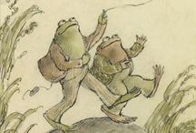 Frog And Toad by Arnold Lobel / Links, articles, DIYs, crafts, lessons, and activities related to the text for your children, homeschool, or classroom as part of the My Little Poppies (virtual) Family Book Club! / by Cait Fitz @ My Little Poppies