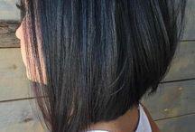 Стрижка каре длиной до плеч