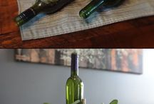 bottles repurposed